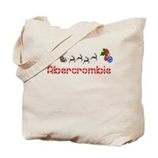 Abercrombie, Christmas Tote Bag