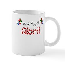Abril, Christmas Small Mug