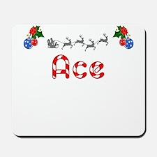 Ace, Christmas Mousepad