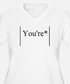Its You're not Your T-Shirt