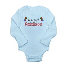 Addison, Christmas Long Sleeve Infant Bodysuit