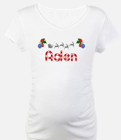 Aden, Christmas Shirt