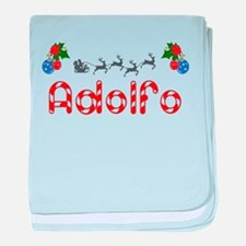Adolfo, Christmas baby blanket