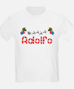Adolfo, Christmas T-Shirt