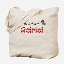 Adriel, Christmas Tote Bag
