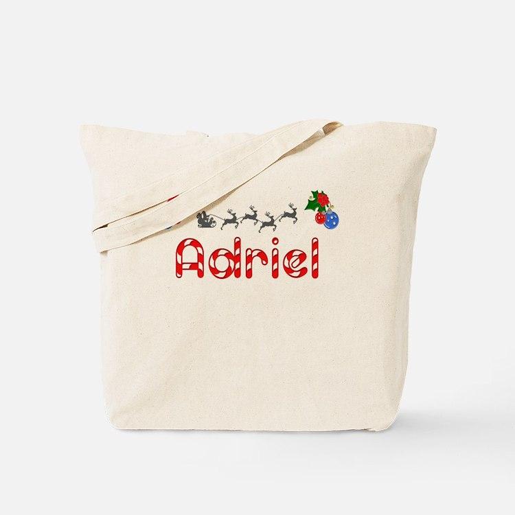 Adriel, Christmas Tote Bag