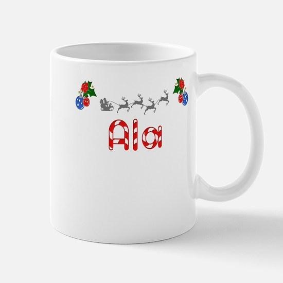 Ala, Christmas Mug