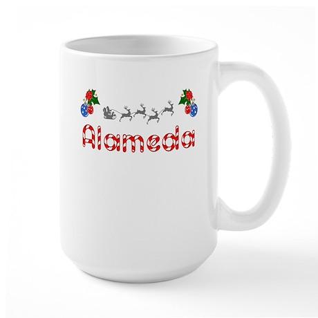 Alameda, Christmas Large Mug