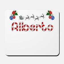Alberto, Christmas Mousepad