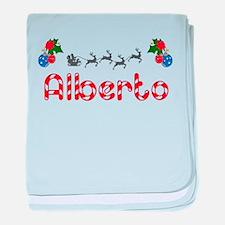 Alberto, Christmas baby blanket
