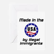 Made in the USA Greeting Cards (Pk of 10)
