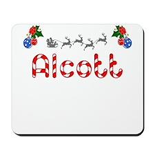 Alcott, Christmas Mousepad