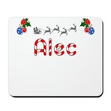 Alec, Christmas Mousepad