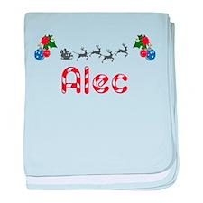 Alec, Christmas baby blanket