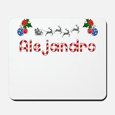 Alejandro, Christmas Mousepad