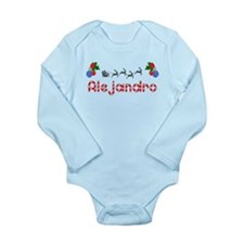 Alejandro, Christmas Long Sleeve Infant Bodysuit
