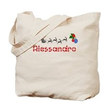 Alessandro, Christmas Tote Bag
