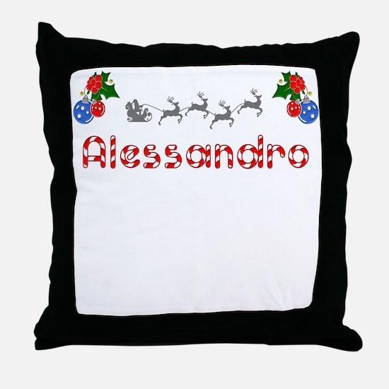 Alessandro, Christmas Throw Pillow