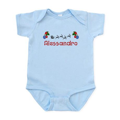 Alessandro, Christmas Infant Bodysuit