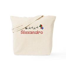 Alexandro, Christmas Tote Bag