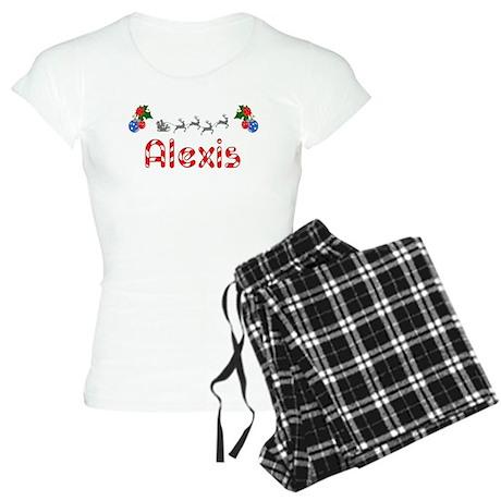 Alexis, Christmas Women's Light Pajamas