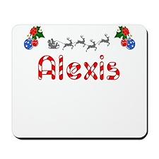 Alexis, Christmas Mousepad