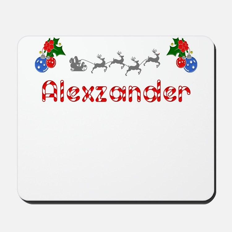 Alexzander, Christmas Mousepad