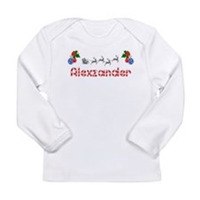 Alexzander, Christmas Long Sleeve Infant T-Shirt