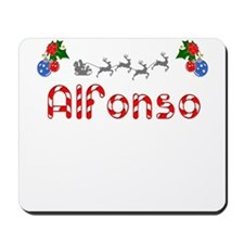 Alfonso, Christmas Mousepad