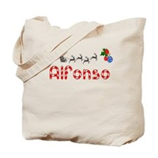 Alfonso, Christmas Tote Bag