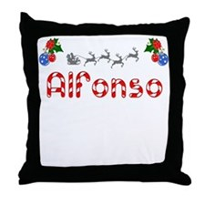 Alfonso, Christmas Throw Pillow