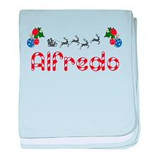 Alfredo, Christmas baby blanket