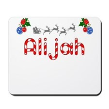 Alijah, Christmas Mousepad