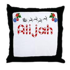 Alijah, Christmas Throw Pillow