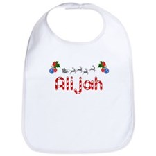 Alijah, Christmas Bib