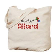 Allard, Christmas Tote Bag