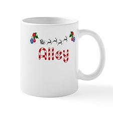 Alley, Christmas Mug
