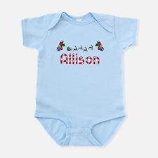 Allison, Christmas Infant Bodysuit