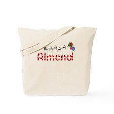 Almond, Christmas Tote Bag
