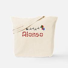 Alonso, Christmas Tote Bag