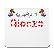 Alonzo, Christmas Mousepad