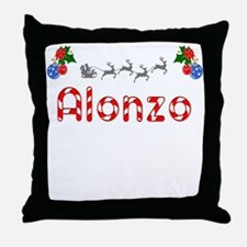 Alonzo, Christmas Throw Pillow