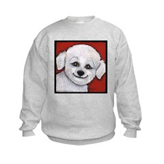 Bichon Frise Poodle Sweatshirt