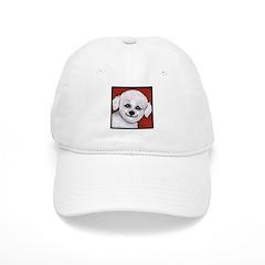 Bichon Frise Poodle Baseball Cap