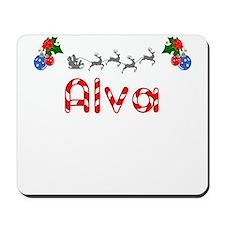 Alva, Christmas Mousepad