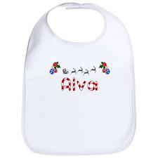 Alva, Christmas Bib