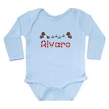 Alvaro, Christmas Long Sleeve Infant Bodysuit