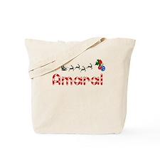 Amaral, Christmas Tote Bag