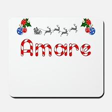 Amare, Christmas Mousepad