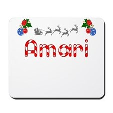 Amari, Christmas Mousepad